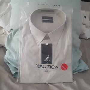 NAUTICA shirt, TALL